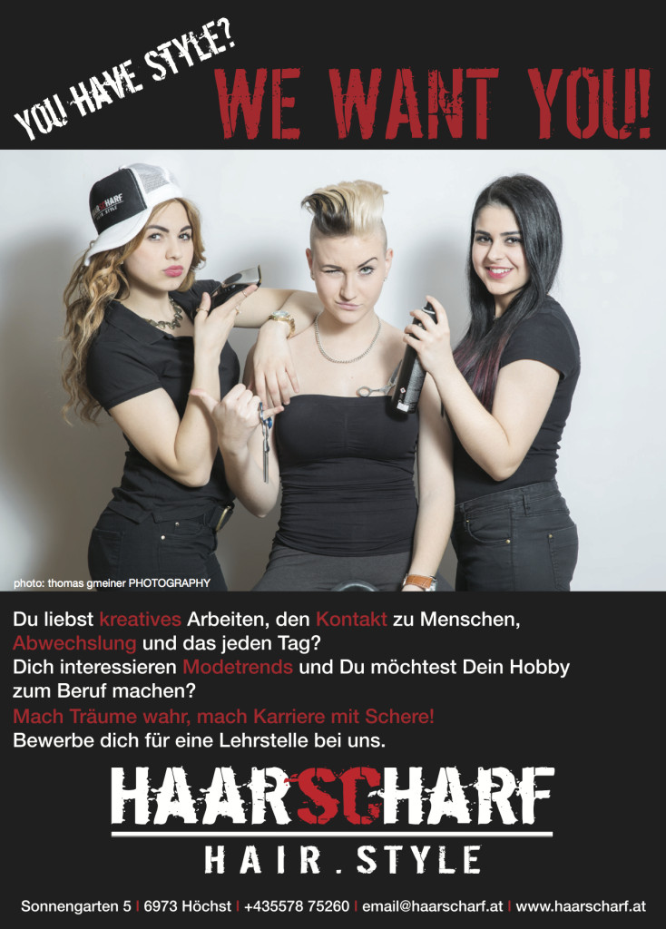 HAARSCHARF Flyer 1