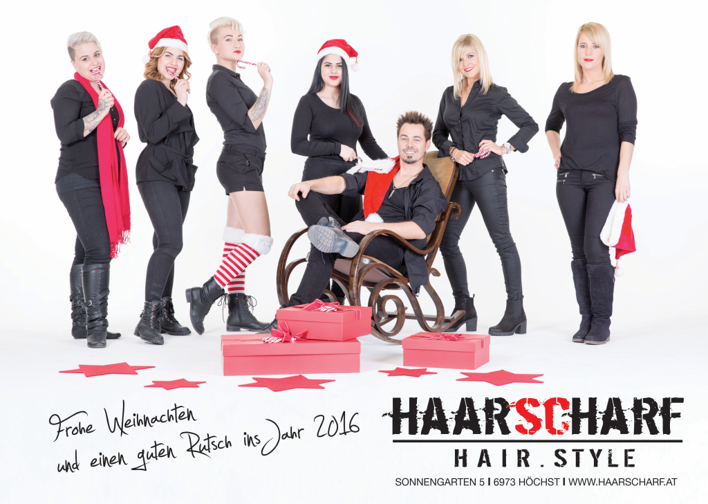 HAARSCHARF - x-mas 2015 Beilage