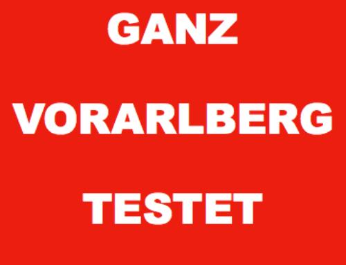 Bitte lasst euch testen, kommt vorbei und unterstützt uns!